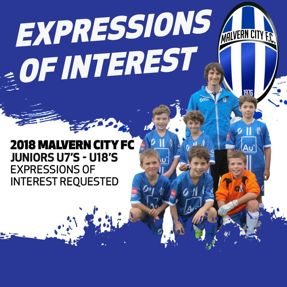JUNIORS EXPRESSION OF INTEREST FORM